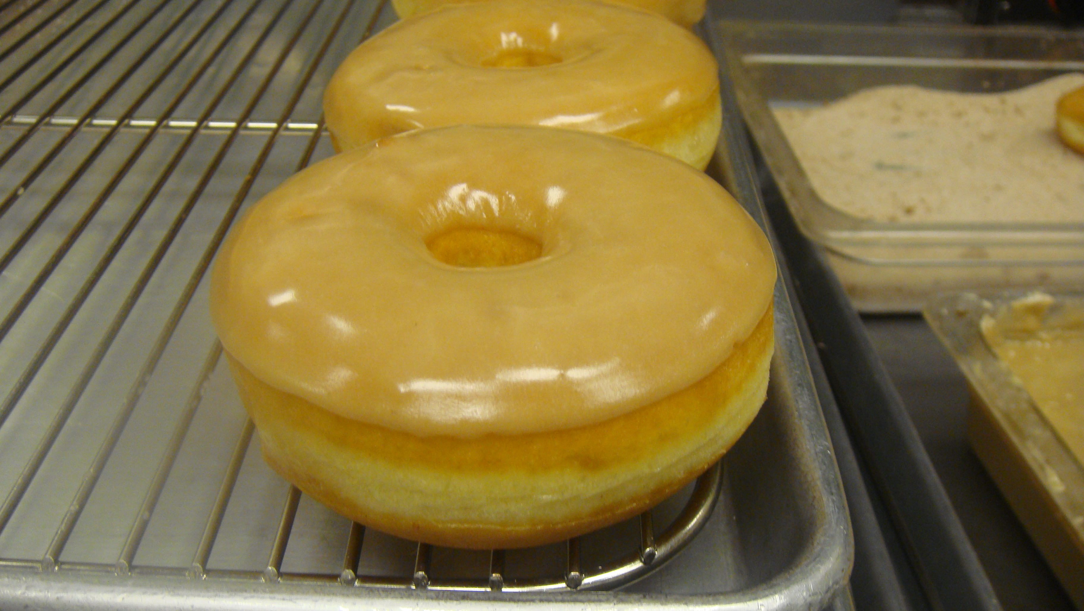 Maple Glazed Donuts.